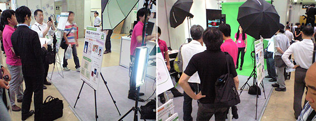 『PHOTONEXT 2013』 ISP出展風景